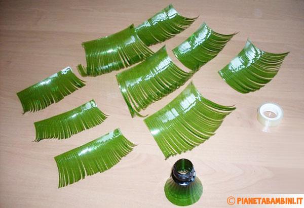 Rametti in plastica per l'alberello