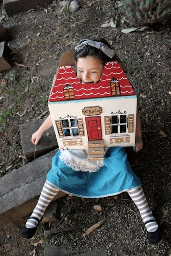 Costume di Alice per bambine