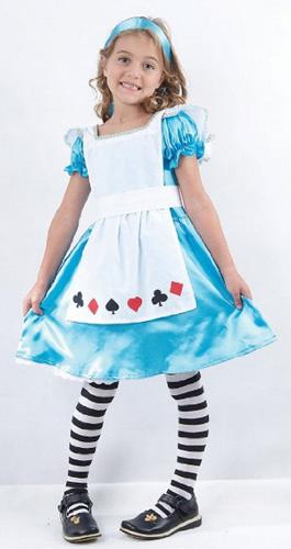 Costume di carnevale di Alice