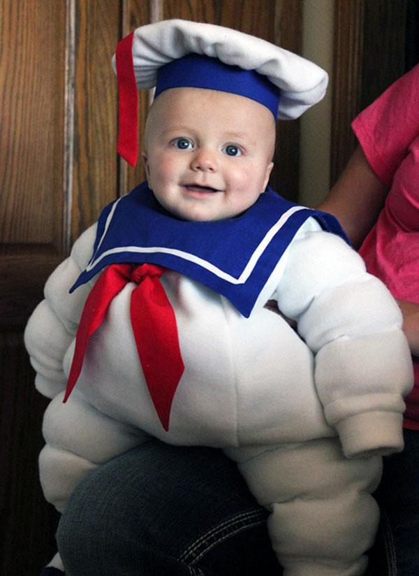 Costume da Marshmallow Man per bambini