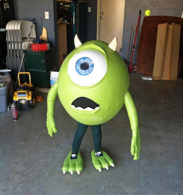 Costume da mostro Mike per bambini