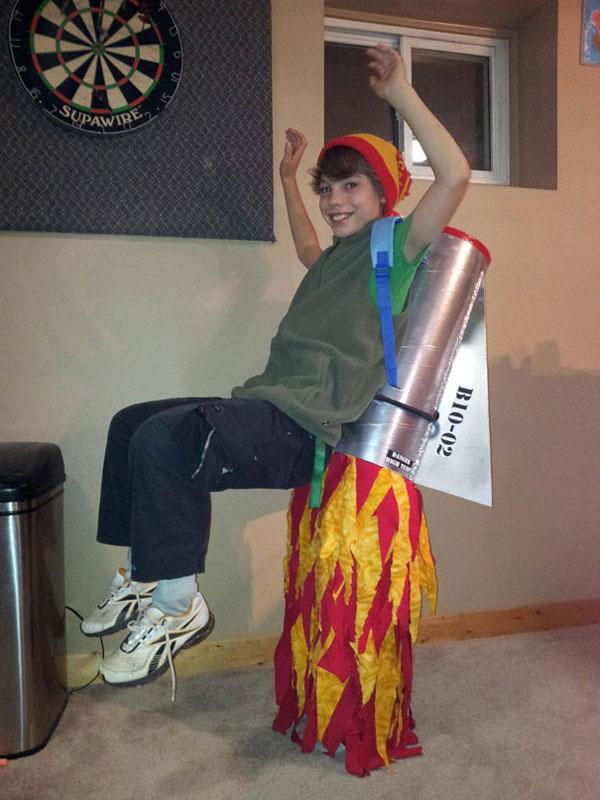 Costume da Rocket Man per bambini