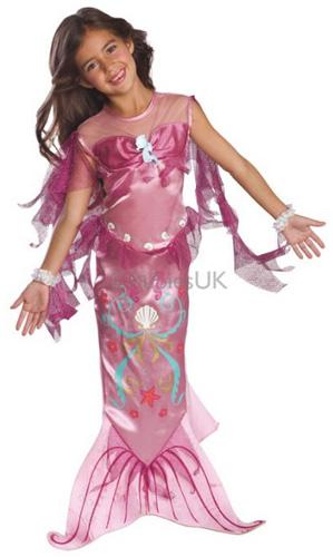 Costume di carnevale della sirenetta Ariel