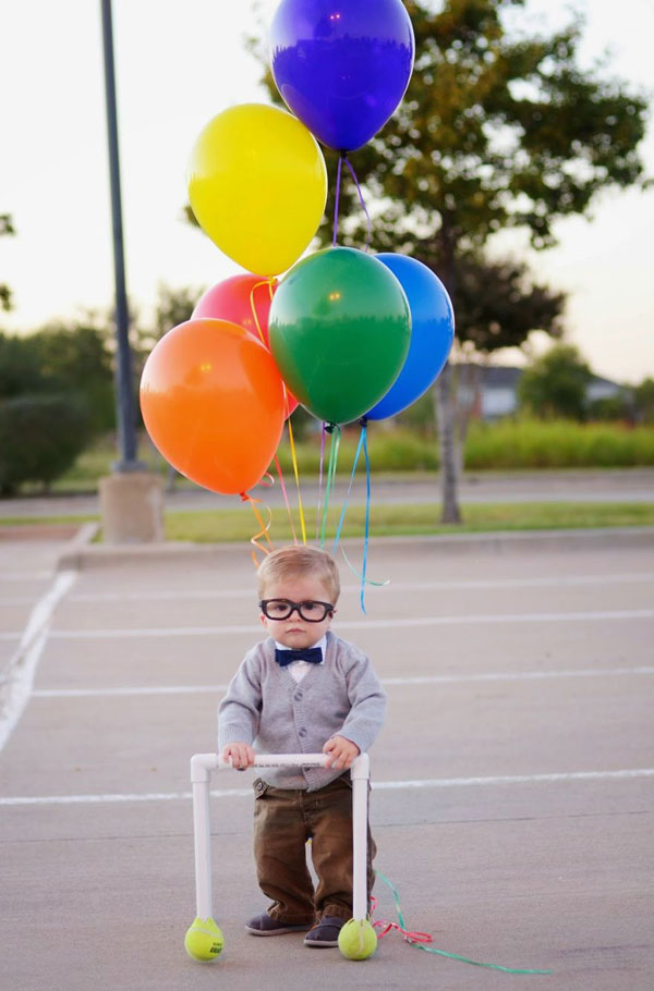 "Costume da Carl di ""Up"" per bambini"