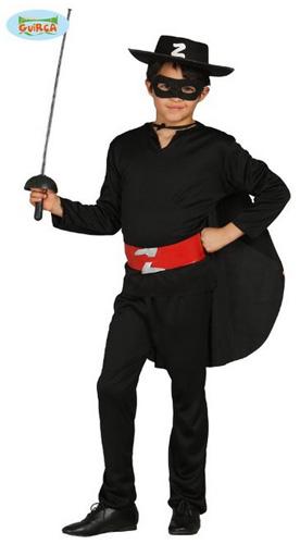 Costume di carnevale di Zorro