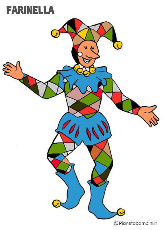 Maschera di Carnevale Farinella
