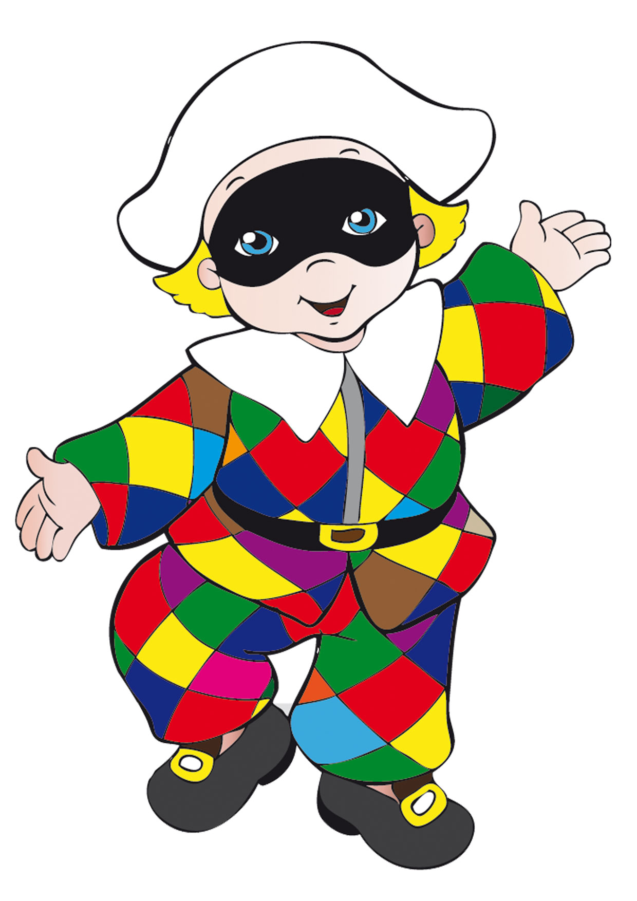 Maschere di carnevale italiane in versione bambini da