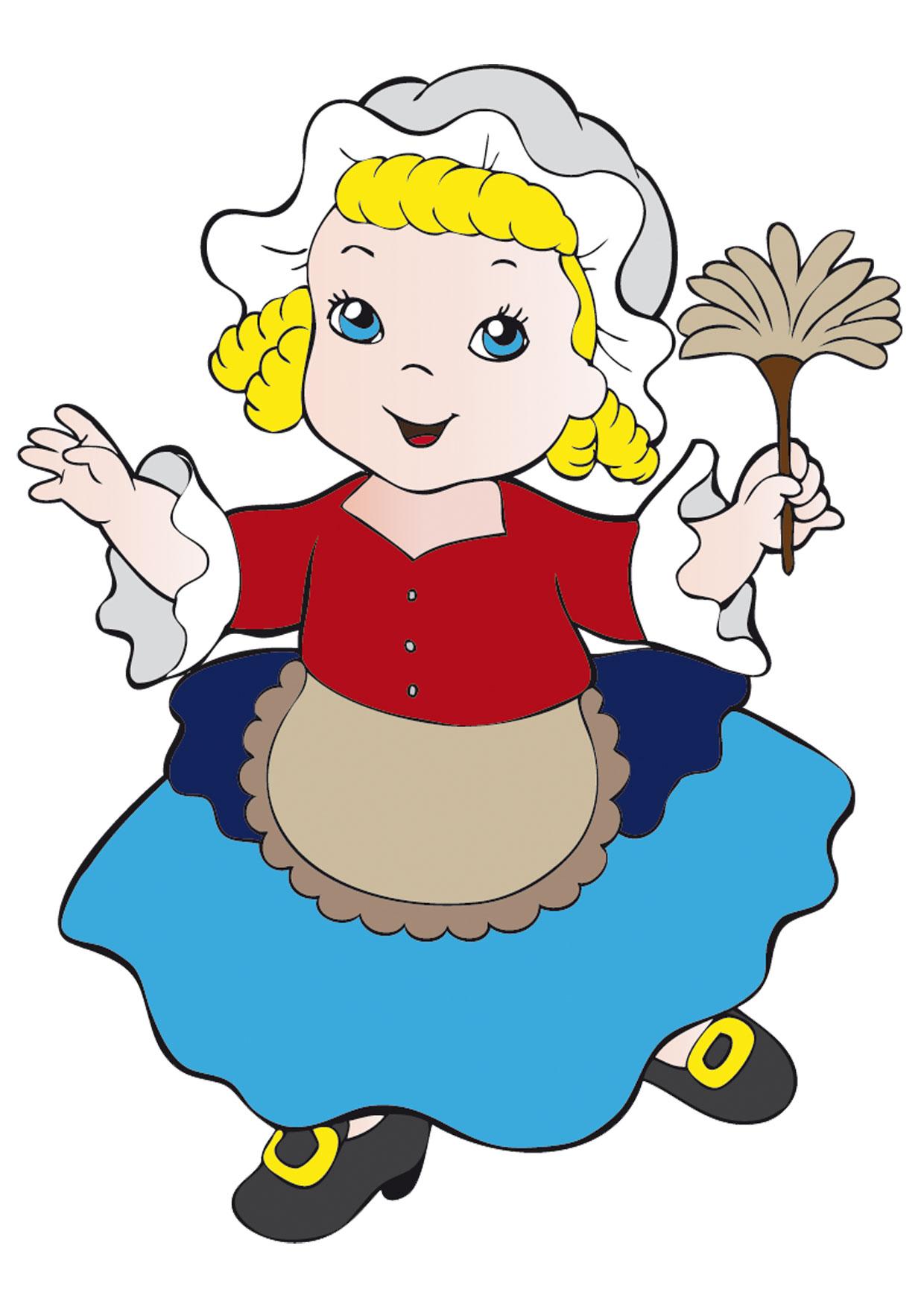 Maschere di carnevale italiane in versione bambini da for Disegno bambina da colorare