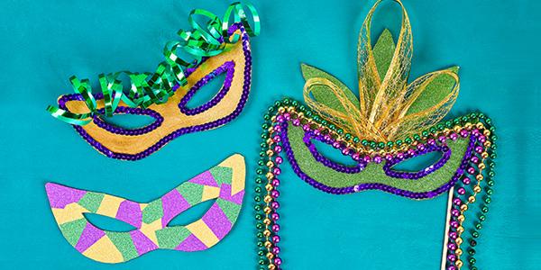 Idee maschere di Carnevale fai da te