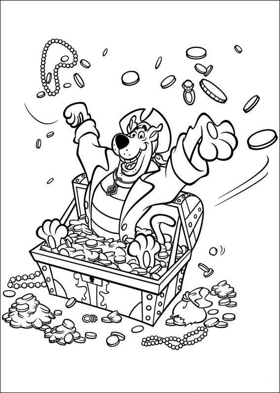 60 Disegni di Scooby Doo da Colorare | PianetaBambini.it