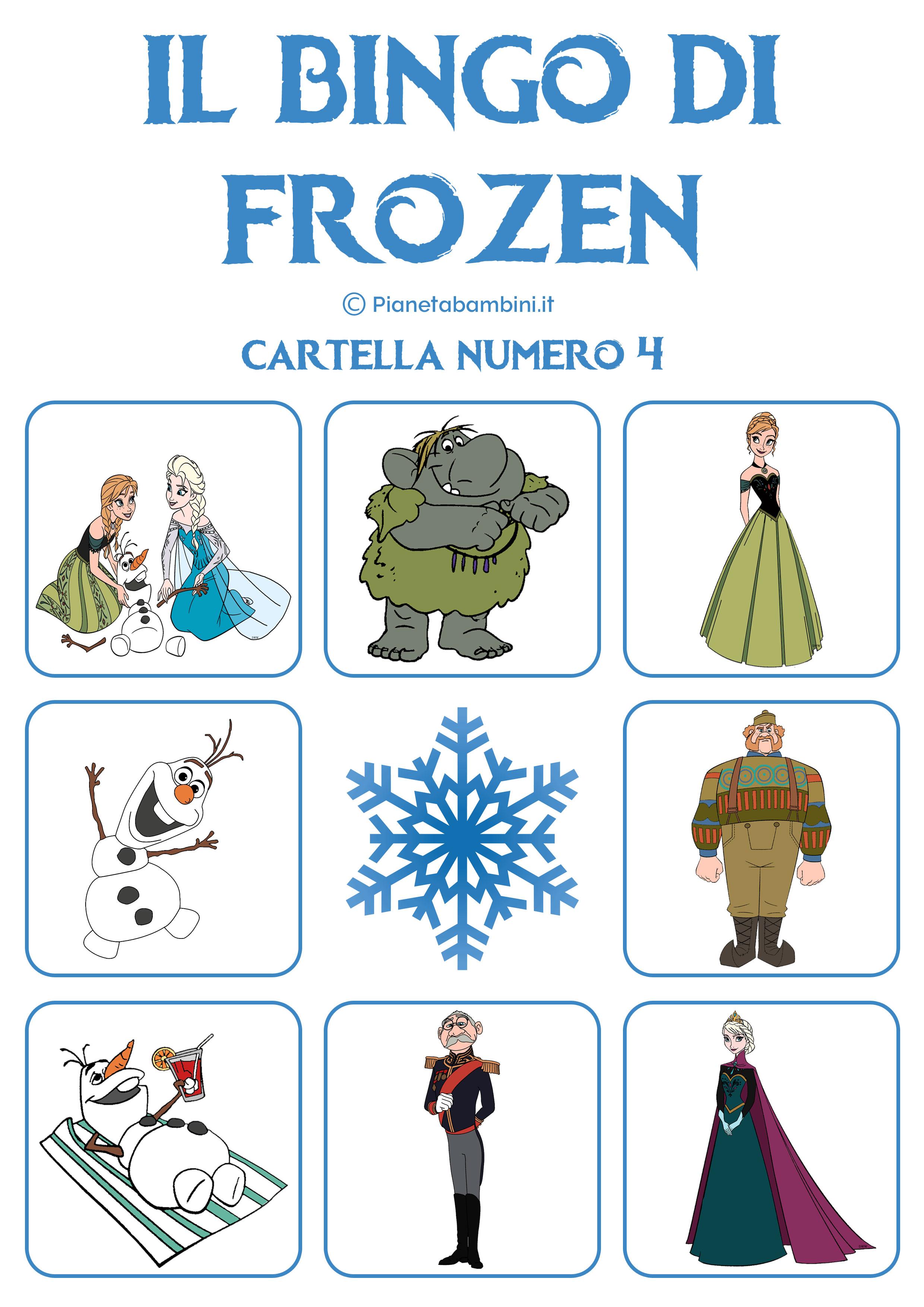 Bingo-Frozen-Cartella-4