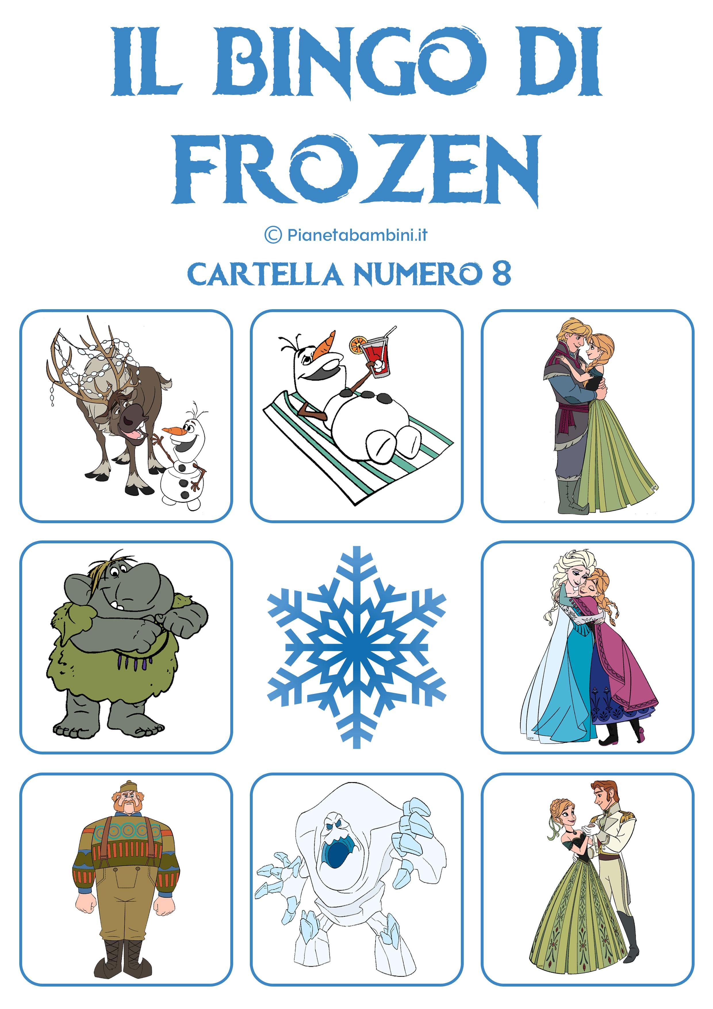 Bingo-Frozen-Cartella-8
