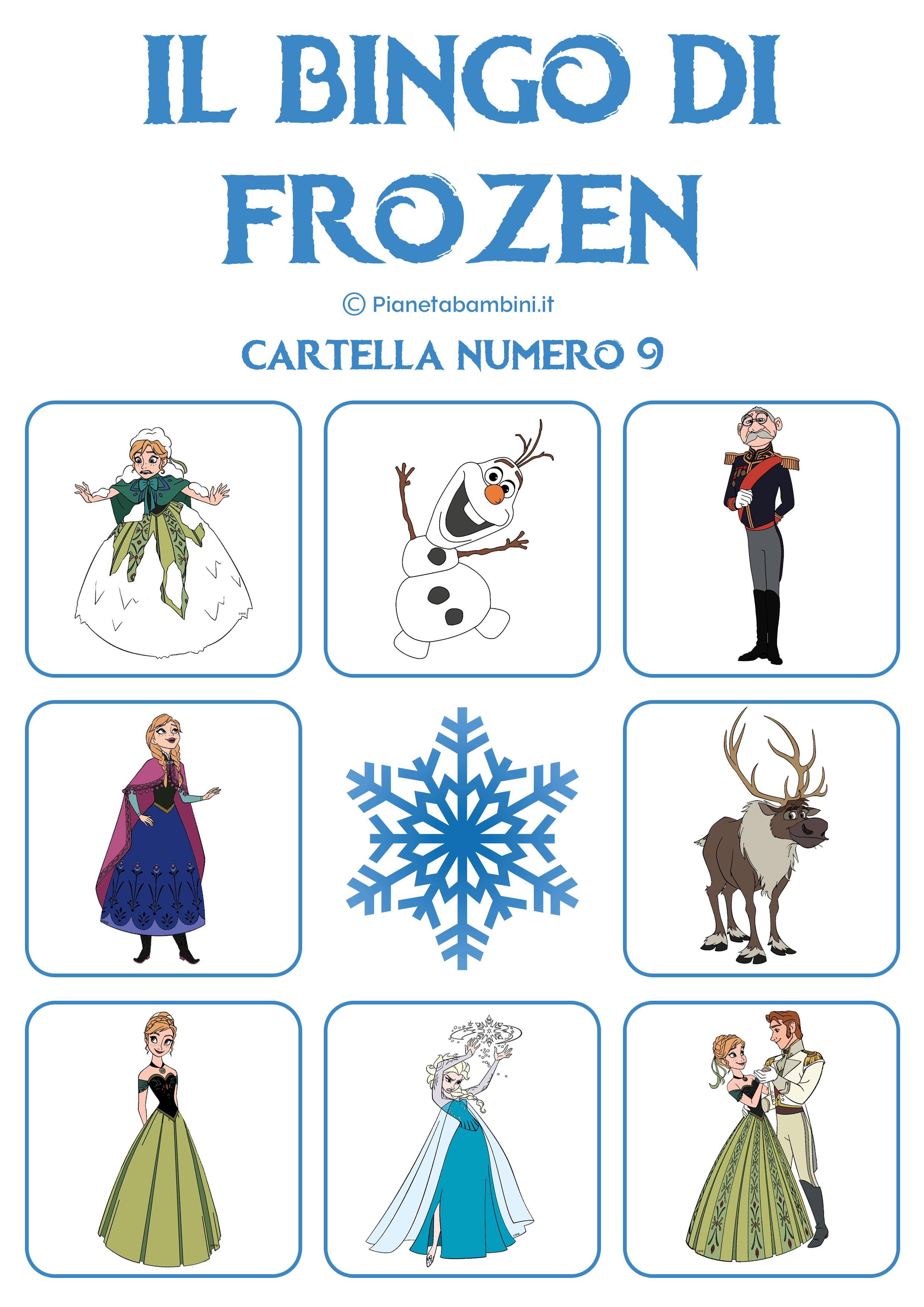 Bingo-Frozen-Cartella-9