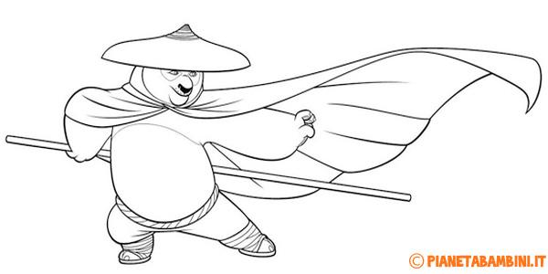 Disegni di Kung Fu Panda da stampare gratis