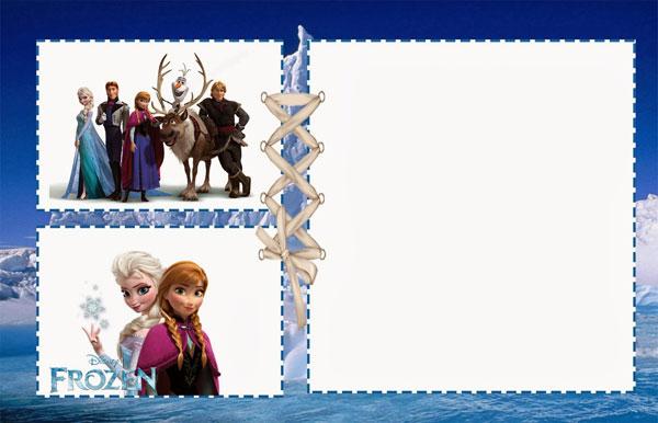 Biglietto di invito di Frozen n.03