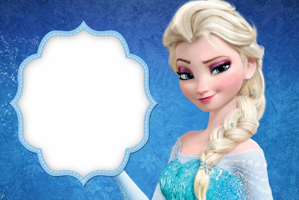 Biglietto di invito di Frozen n.05
