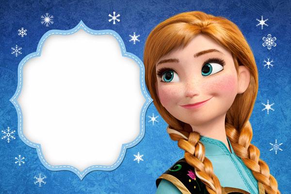 Biglietto di invito di Frozen n.06