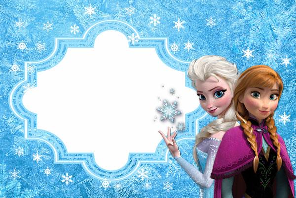 Biglietto di invito di Frozen n.07