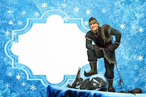 Biglietto di invito di Frozen n.08