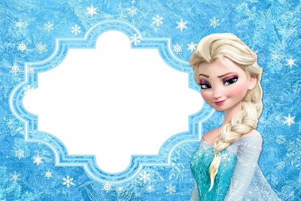 Biglietto di invito di Frozen n.09