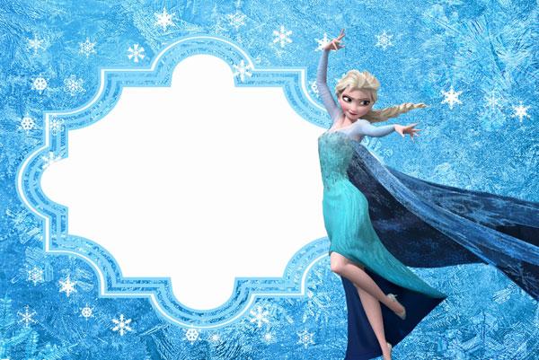 Biglietto di invito di Frozen n.10