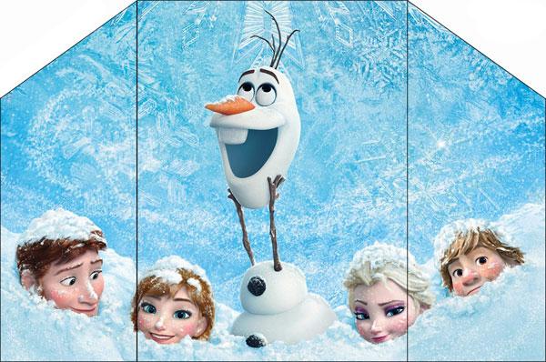 Biglietto di invito di Frozen n.17
