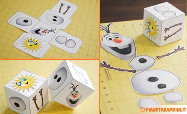 Come si gioca alla costruzione di Olaf