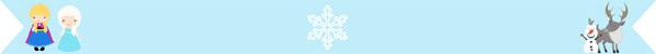 Separatore di immagini di Frozen