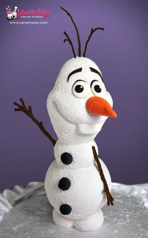 Foto della torta di Frozen n.32