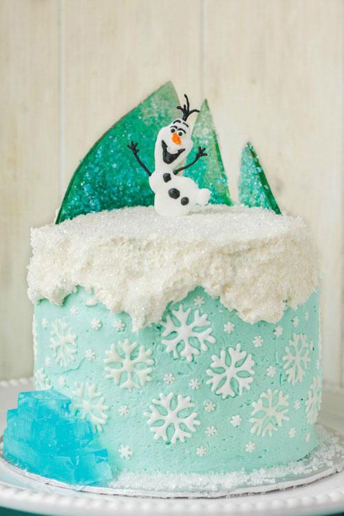 Foto della torta di Frozen n.34
