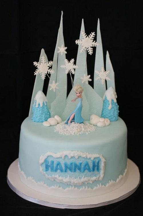 Foto della torta di Frozen n.56