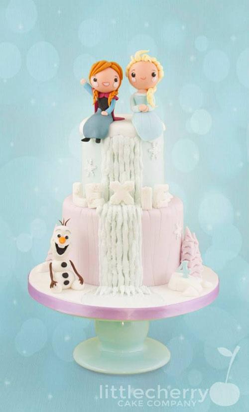Foto della torta di Frozen n.59