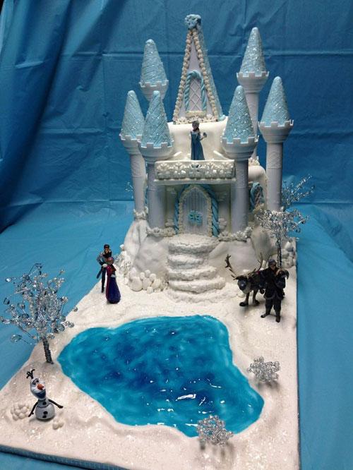 Foto della torta di Frozen n.62