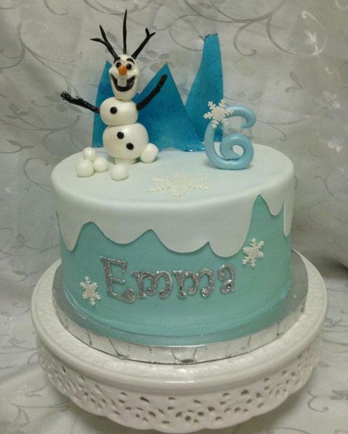 Foto della torta di Frozen n.72