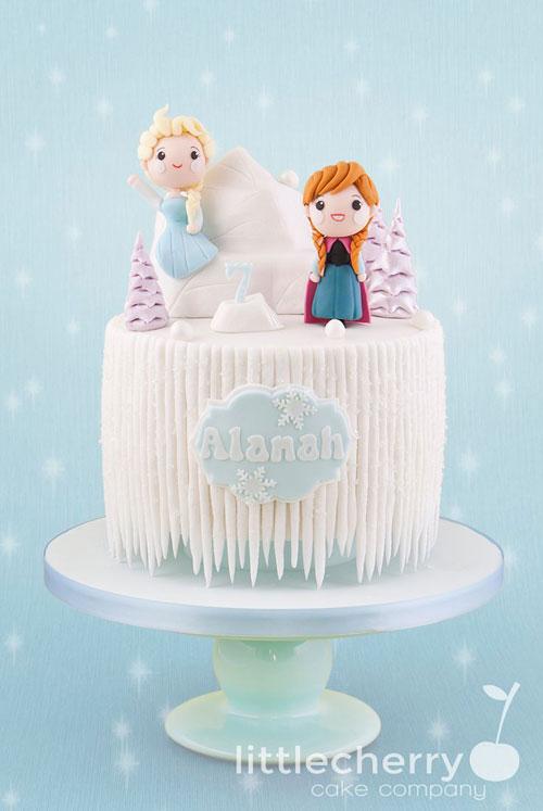 Foto della torta di Frozen n.79