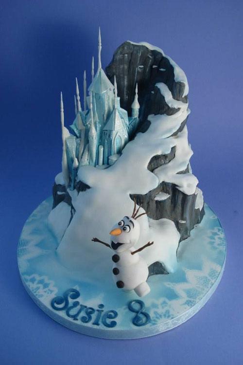 Foto della torta di Frozen n.80