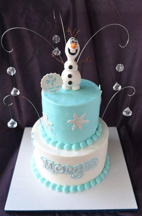 Foto della torta di Frozen n.87
