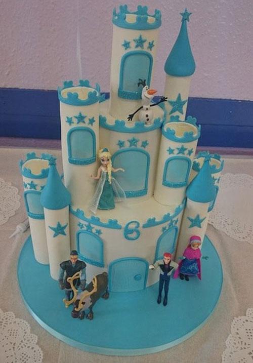 Foto della torta di Frozen n.91