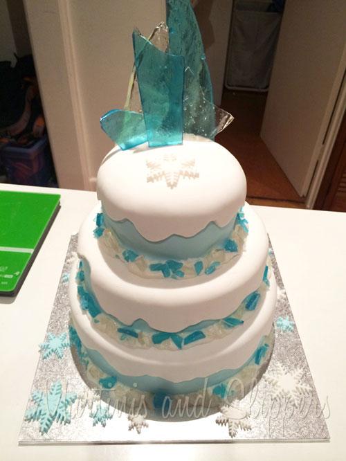 Foto della torta di Frozen n.92