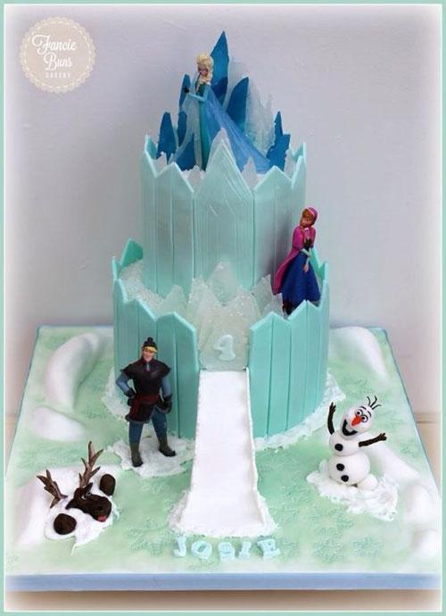 Foto della torta di Frozen n.93