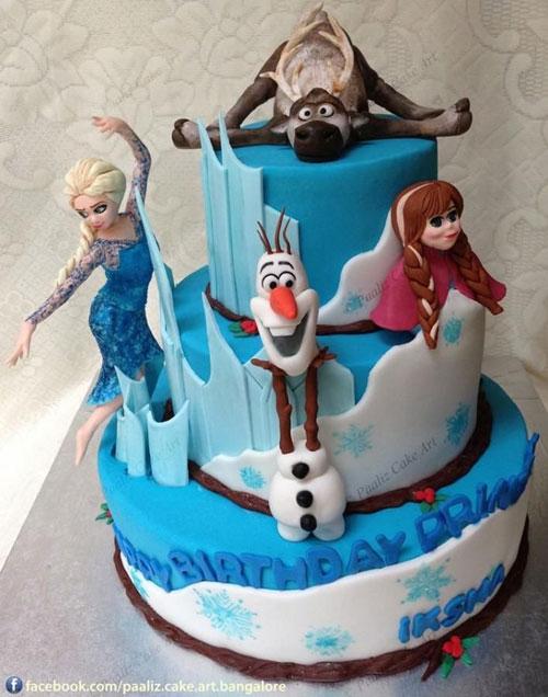 Foto della torta di Frozen n.94