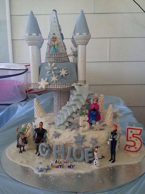 Foto della torta di Frozen n.97