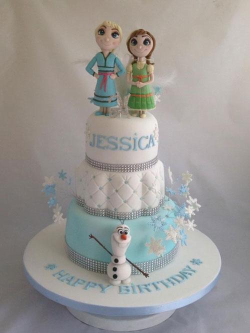 Foto della torta di Frozen n.98
