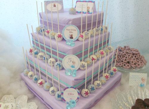 Foto della torta di Frozen n.99