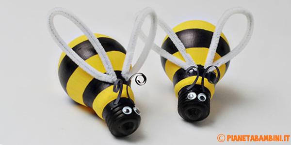 Come creare della api con lampadine riciclate