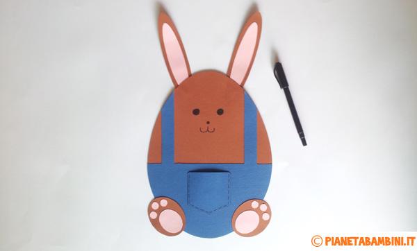 Come disegnare il volto del coniglietto