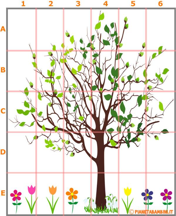 Come costruire l'albero primaverile murale