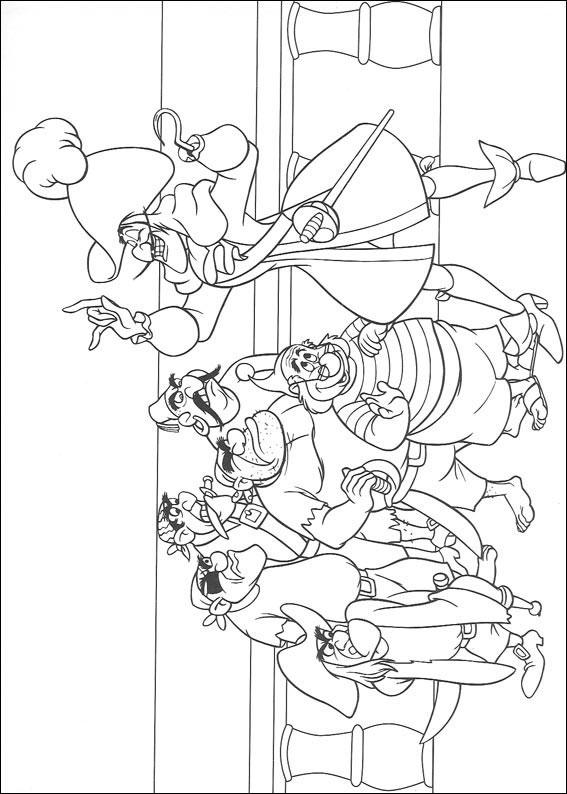 66 Disegni Di Peter Pan Da Colorare Pianetabambini It