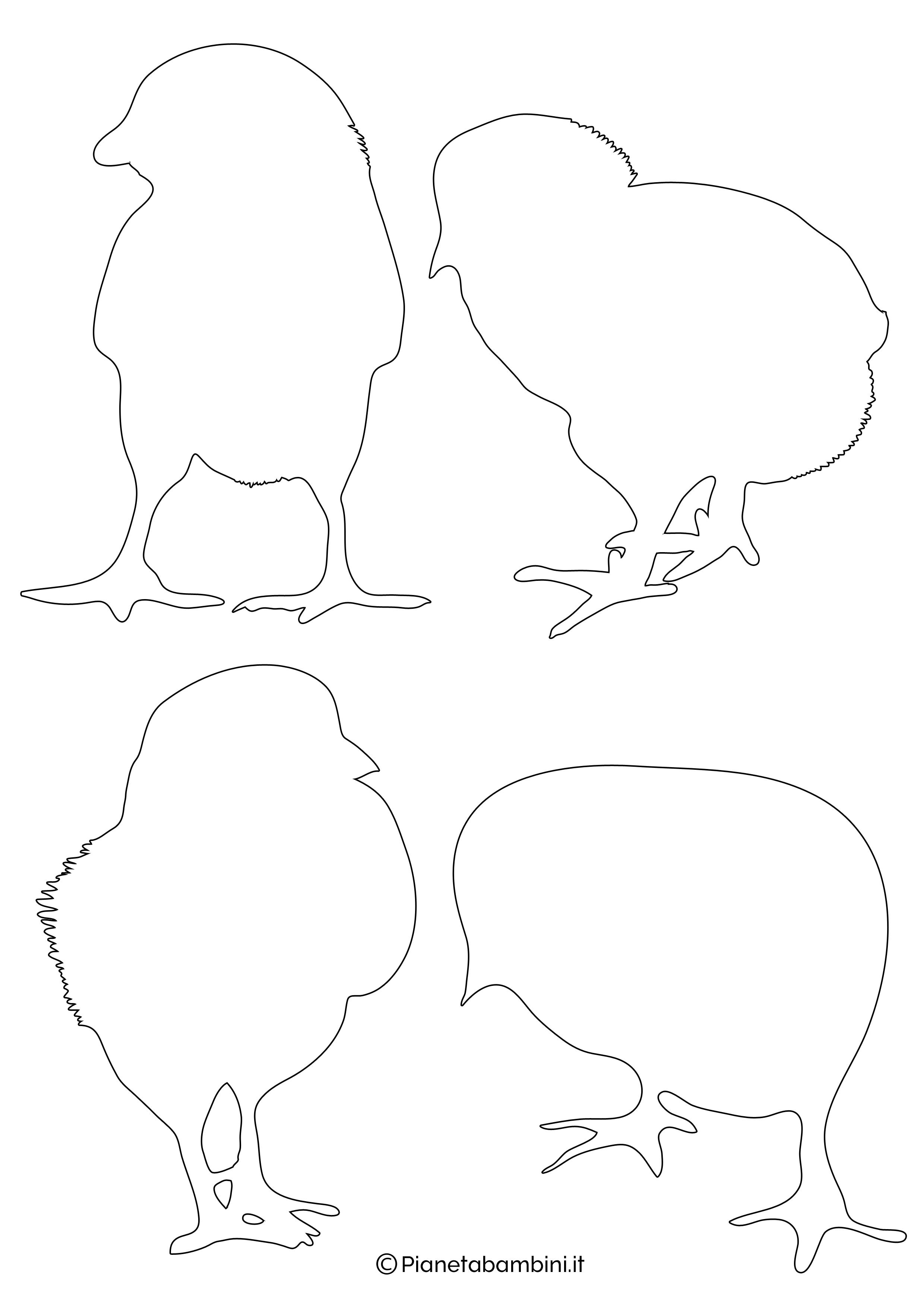 Sagome-Pulcini-Medie-1