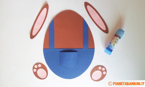 Assemblaggio del coniglietto